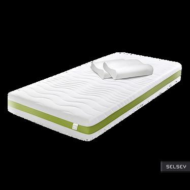 Materac sprężynowy Eco Line z dwiema poduszkami