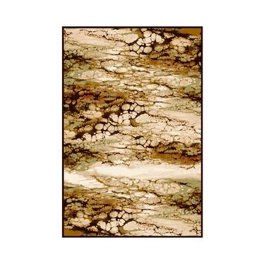 Dywan Basal Abstrakcja 7 brązowy