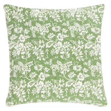Poduszka z poszewką Flower Garden Green 45x45 cm