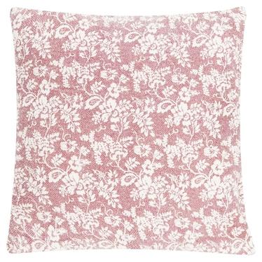 Poduszka z poszewką Flower Garden Blush 60x60 cm
