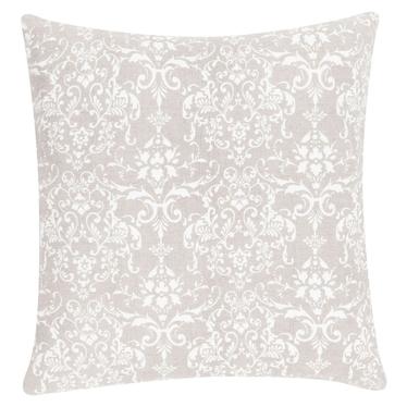 Poduszka z poszewką Stonewash Ornament kremowa 50x50 cm