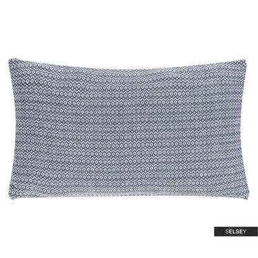 Poduszka z poszewką Summer Wave niebieska 30x50 cm