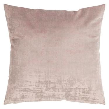 Poduszka z poszewką Vintage Velvet pudrowy róż 50x50 cm