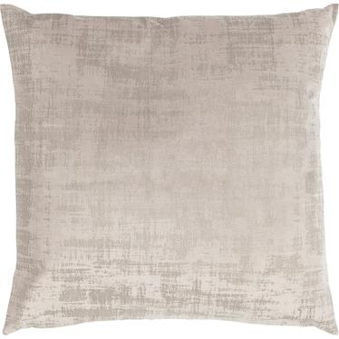 Poduszka z poszewką Vintage Velvet piaskowa 50x50 cm