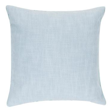 Poduszka z poszewką Cynthia błękitna 45x45 cm