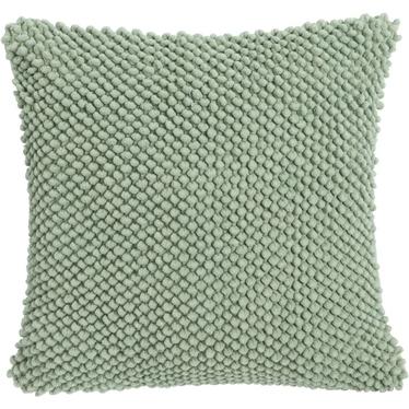 Poduszka z poszewką Jumbo Dots zielona 45x45 cm