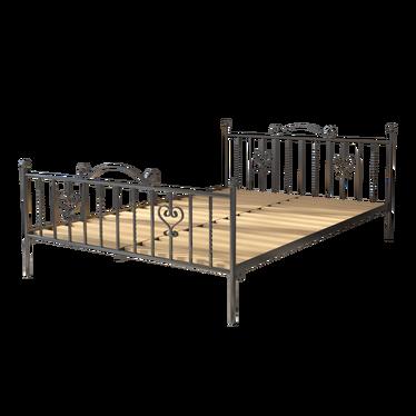 Łóżko metalowe Friss