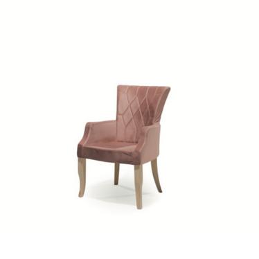 Krzesło Charlotte tapicerowane