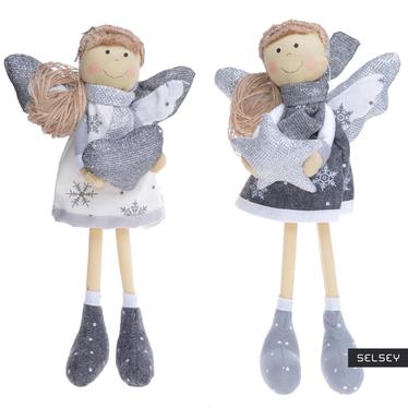 Anioł stojący z materiału 26 cm