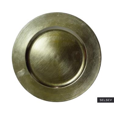 Podtalerz oliwkowy metaliczny 33 cm
