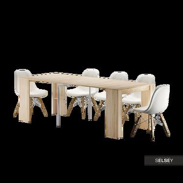 Francuski stół rozkładany Awinion dąb