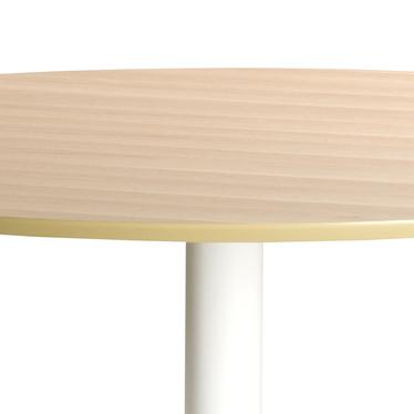 Stół Titano średnica 110 cm dębowo - biały