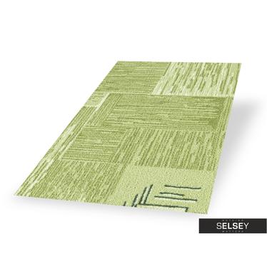 Dywan Stamp Geometria 1 zielony