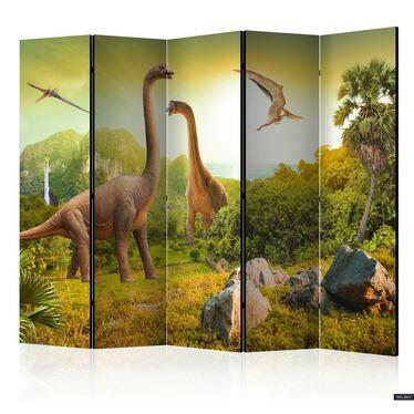 Parawan 5-częściowy – Dinozaury
