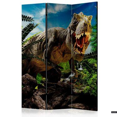 Parawan 3-częściowy - Wściekły tyranozaur