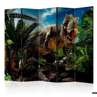 Parawan 5-częściowy - Wściekły tyranozaur