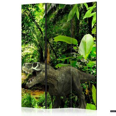 Parawan 3-częściowy - Dinozaury w dżungli