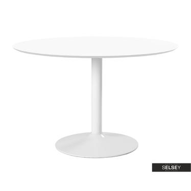 Stół Titano średnica 110 cm biały