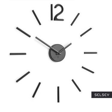 Zegar Blink czarny