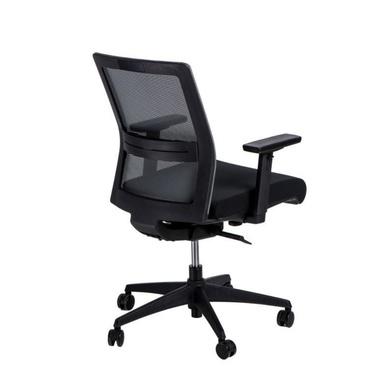 Fotel biurowy Press czarny z obrotowym siedziskiem