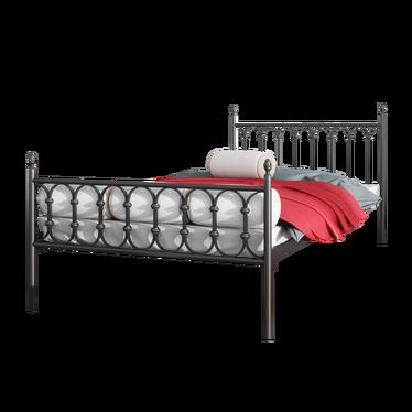 Łóżko metalowe Ward