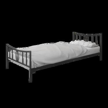Łóżko metalowe Cardi