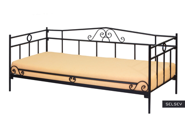 Łóżko metalowe Kubi