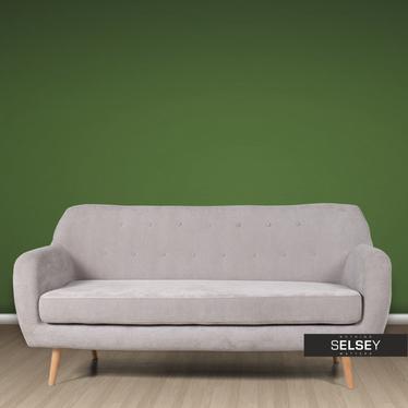 Sofa Royal 3-osobowa orinoco 90 (szara) do salonu