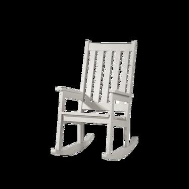 Krzesło bujane Dumbo białe