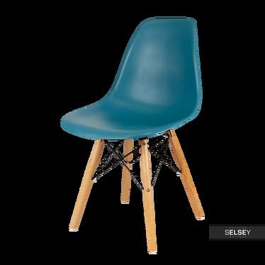 Krzesło Basic morskie buk