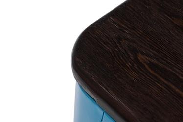 Taboret Paris Wood niebieski sosna szczotkowa