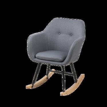 Fotel bujany Emilia Pins grafitowy