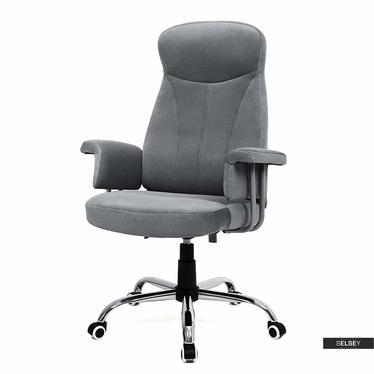 Fotel biurowy Martin szary