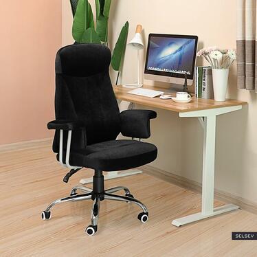Fotel biurowy Martin czarny
