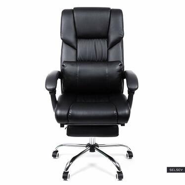 Fotel biurowy Keith czarny