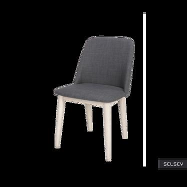 Krzesło Cavnic antracytowe