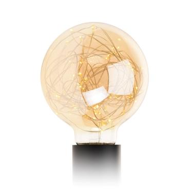 Żarówka G125 50 LED golden