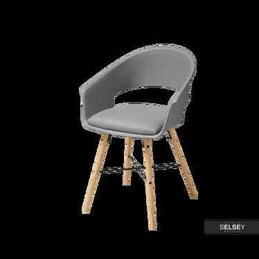 Krzesło Moskal szare