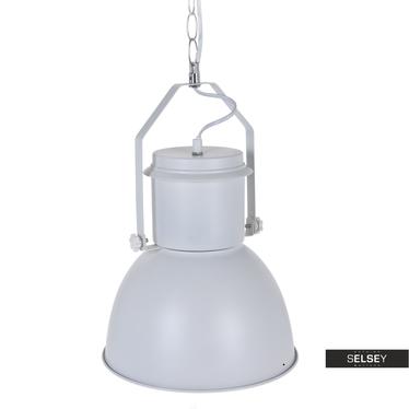 Lampa wisząca Legwan biała