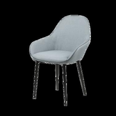 Zestaw dwóch krzeseł Merisor szare