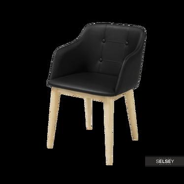 Krzesło Amati czarne