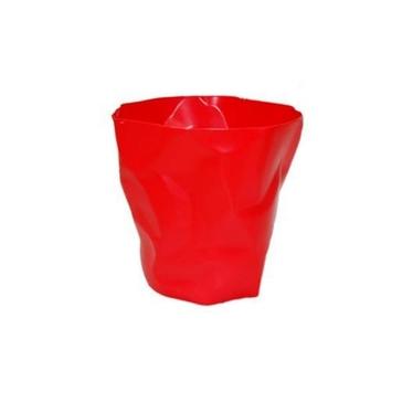 Kosz na śmieci Papier czerwony