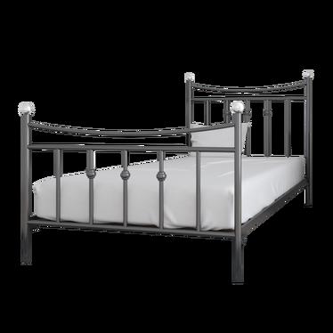 Łóżko metalowe Klers