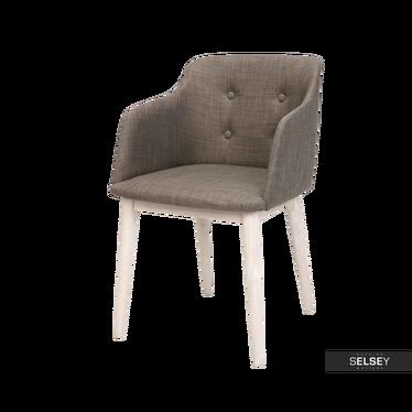 Krzesło Amati brązowe