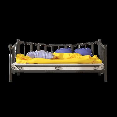 Łóżko metalowe Himmar