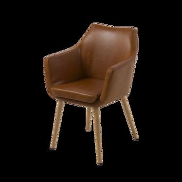 Krzesło Albis jasny brąz