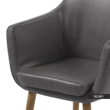 Krzesło Albis szare