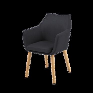 Krzesło Albis grafitowe