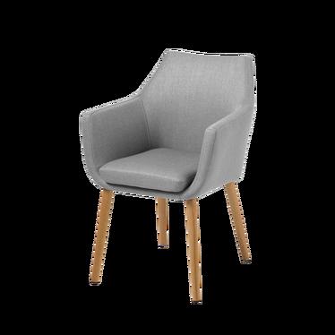 Krzesło Albis jasnoszare