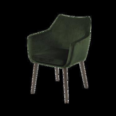 Krzesło Albis zielono - brązowe